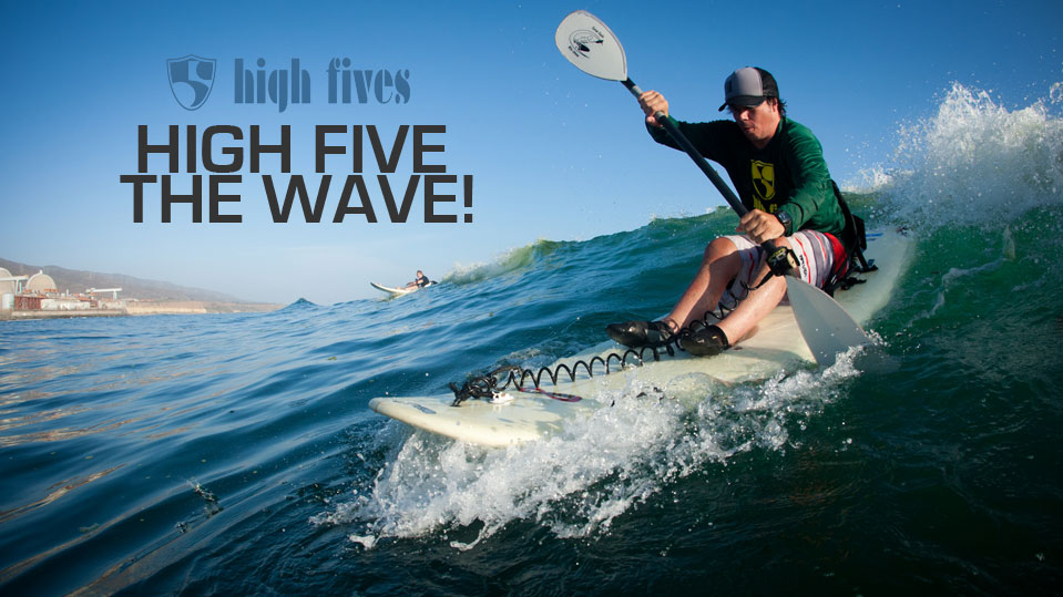 High Five the Wave