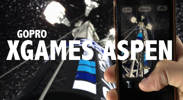 XGames with GoPro in Aspen