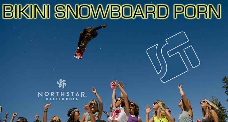 Bikini Snowboard Porn