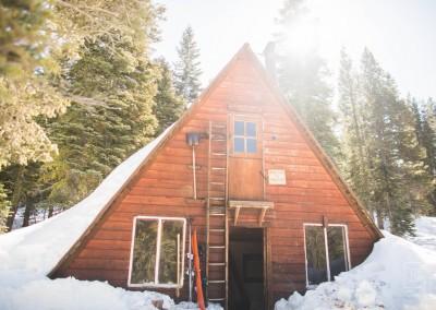 The Ludlow hut!